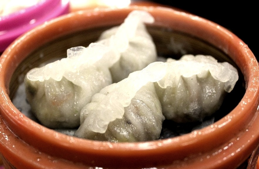 Steamed Dumplings (by Taylor McConnell)