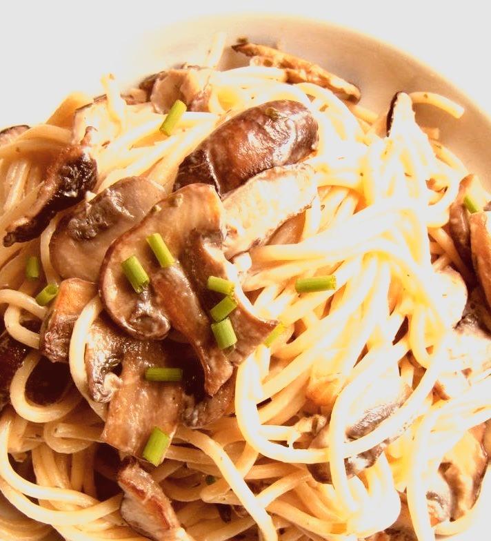 Recipe: Mixed Mushroom Spaghetti