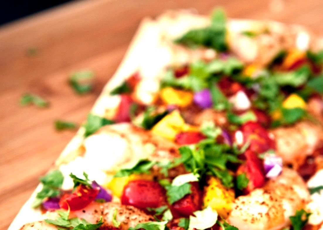 Recipe: Chipotle Shrimp & Mango Flatbread