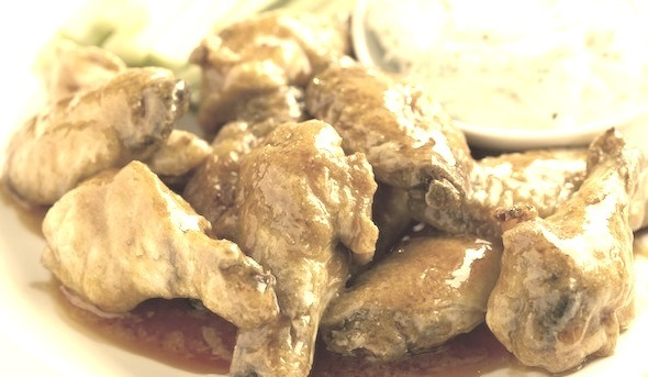 Recipe: Baked Hot Chicken Wings