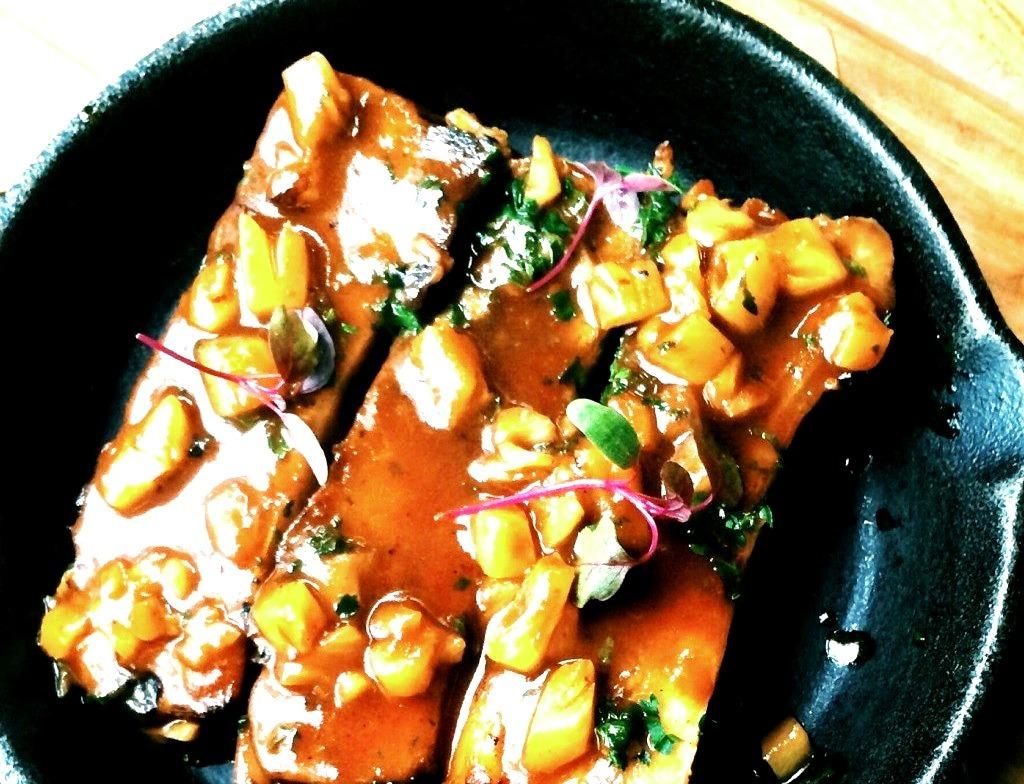 Glazed Pork Spare Ribs @ Olive Bistro In Mumbai, India